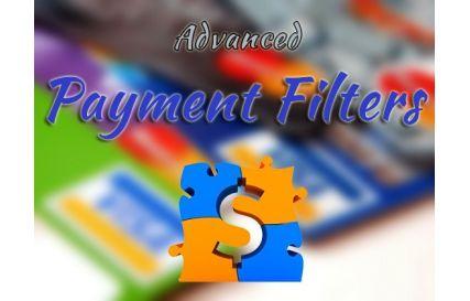 Filtros Avanzados para métodos de pago